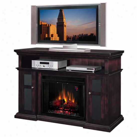 Classic Flame Pasadena 28  Electric Fireplace And Media Console