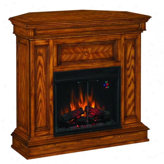 Classic Flame Phoenix Lightning-like Fireplace