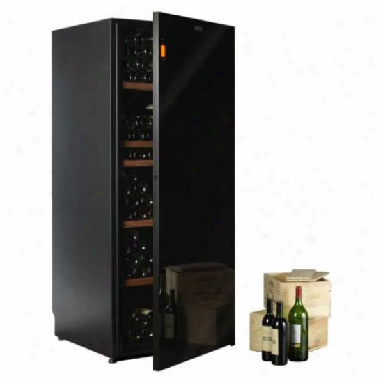 Climadiff Diva 265 Bottle Unmarried Temp Wine Cooler With 5 Shelf Package