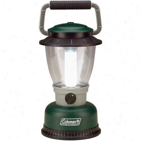 Coleman Green Led Rugged Family Size Lantern