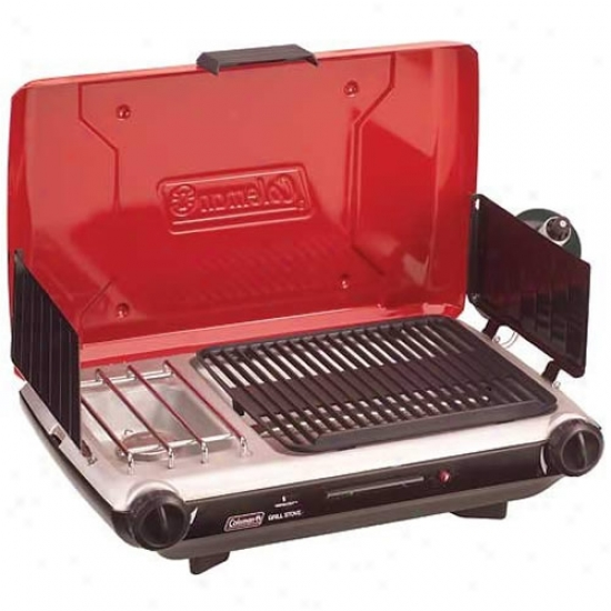 Coleman Perfectfow Instastart Broil Stove