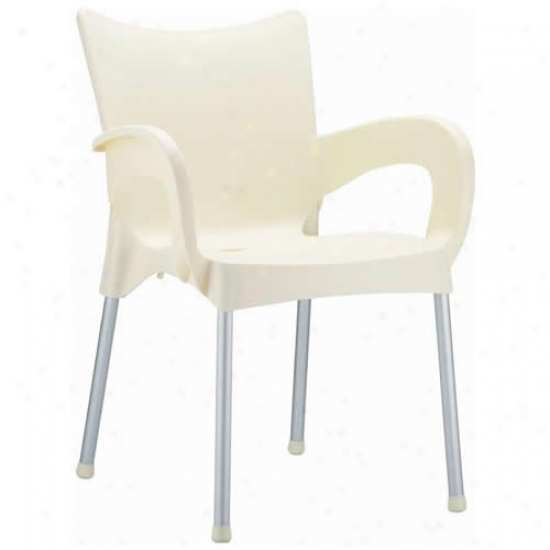 Compamia Romeo Resin Dining Armchair Set With 4 Chairs