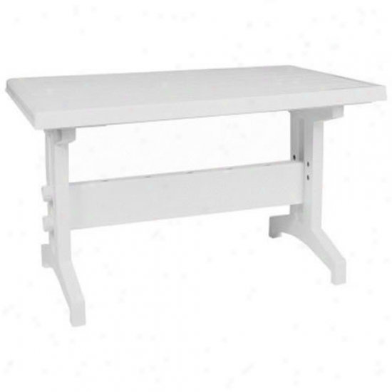Compamia Sunshine Resin Rectangle Table 47 Inch