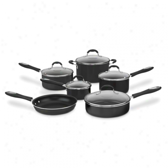 Cuisinart 11 Piece Nonstick Cookware Set