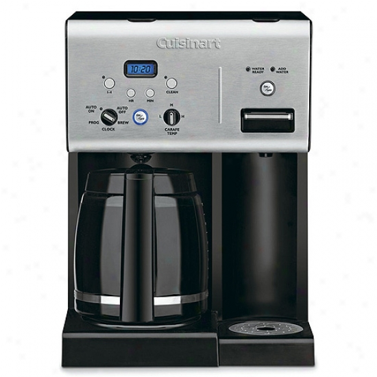 Cuisinart 12-cup Coff3e Creator With Very warm Water System