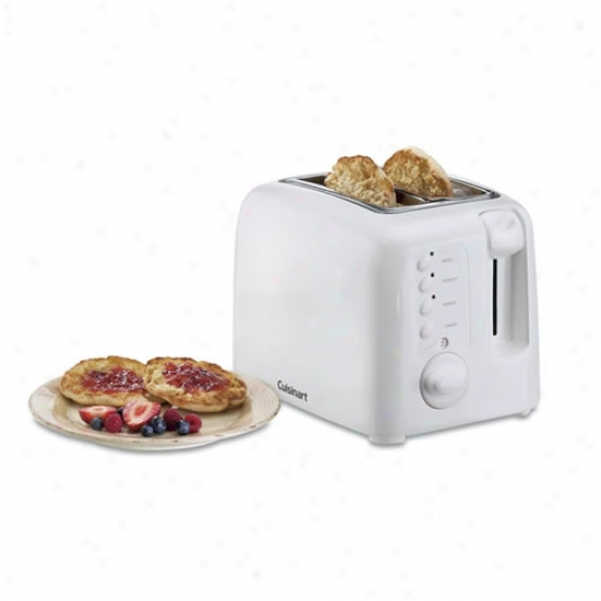 Cuisinarf Compact 2 Slice Toaster