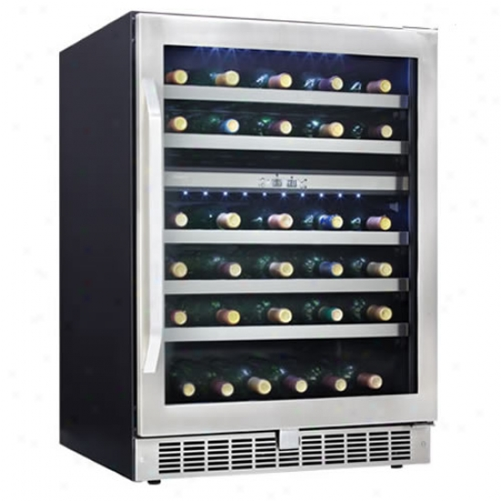 Danby 51-bottle Built-in Dual Zone Wine Cooler