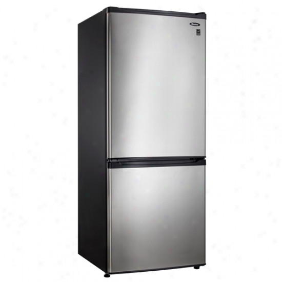 Danby Bottom Mount Refrigerator - Stainless Look