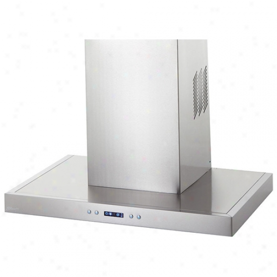 Danby Silhouette Select Series 30 Inch Wall Mount Flat Chimney Range Hood