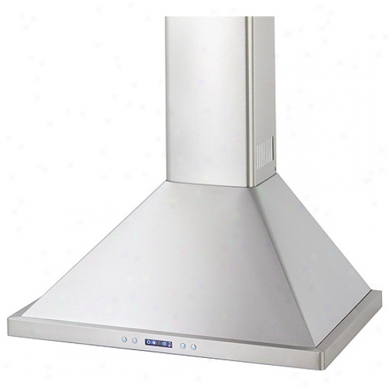 Danby Silhouette Select Series 36 Inch Wall Mount Chimney Range Hood