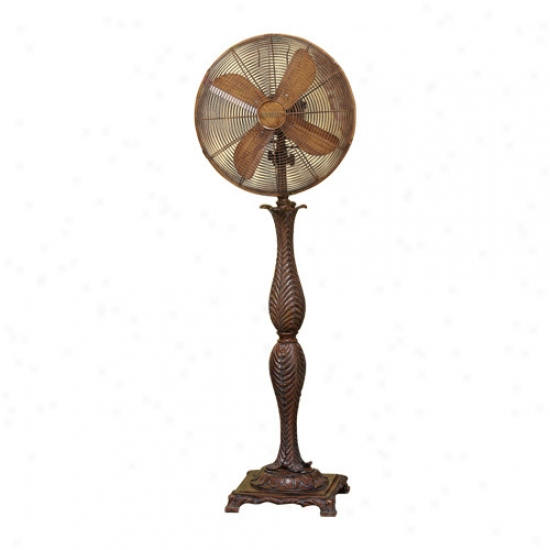 Decobreeze 16  Roccoco Floor Standing Fan
