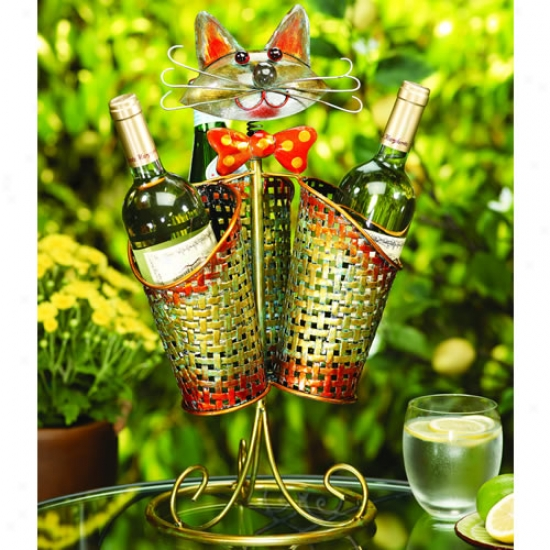 Decobreeze 3 Basket Cat Table Spinner