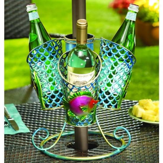 Decobreeze 3 Basket Tropical Fish Umbrella Spinner