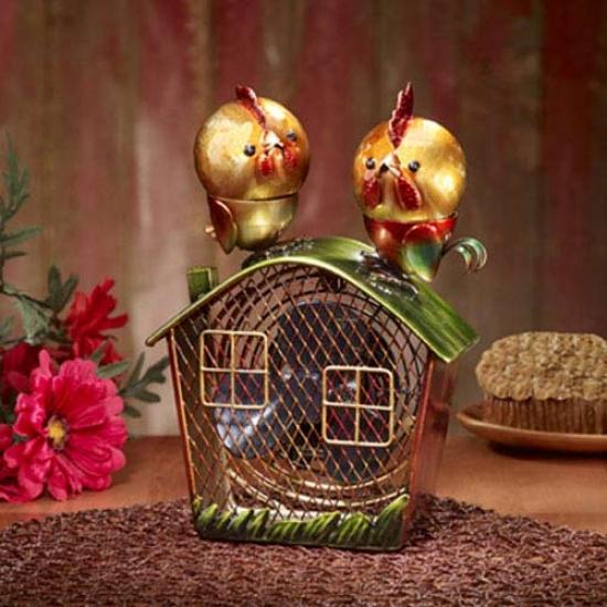Decobreeze Figurine aMgnet Top Fan-rooster