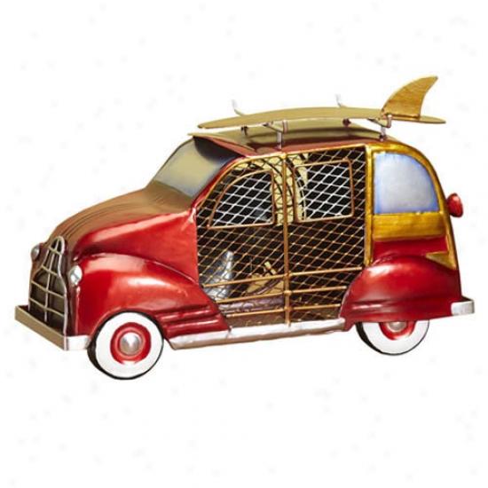 Decobreeze Figurine Table Top Fan-woody Car