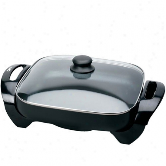 Deni 12in X 12in Electric Skillet