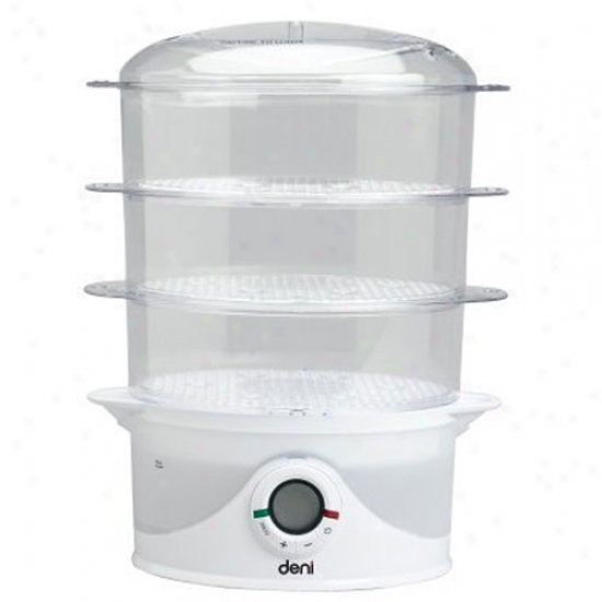 Deni 3 Tier Digital Food Steamer