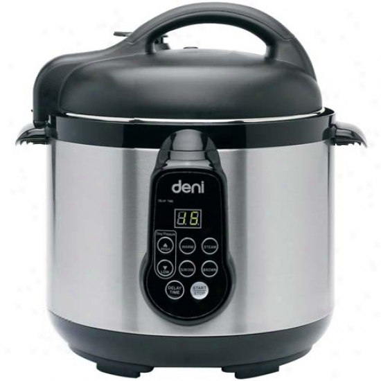 Deni 4.2 Qt. Electric Pressure Cooker