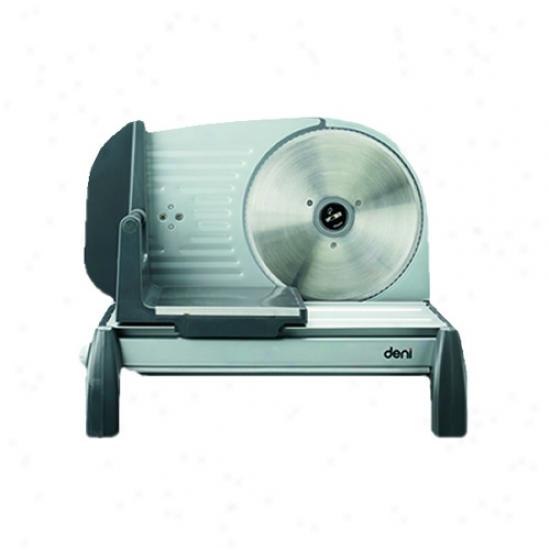 Deni Electric Food Slicer With Digital Scale - 8.5 Inch Blade