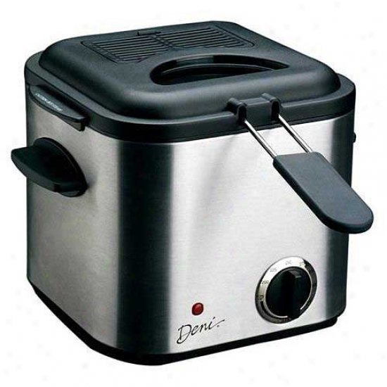 Deni Mini Deep Fryer 1.25qt