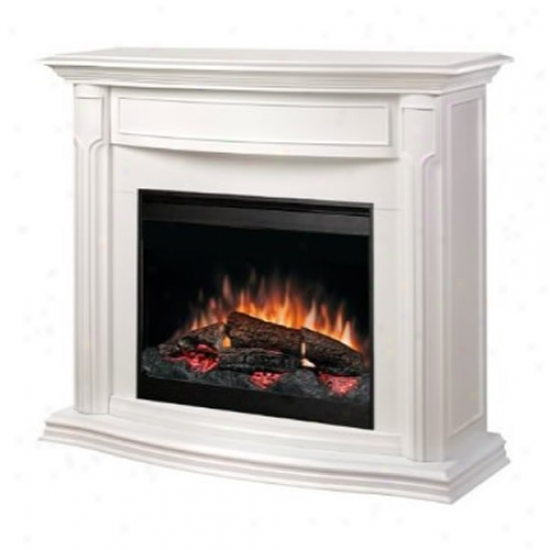Dimplex Addison Electric Fireplace - White