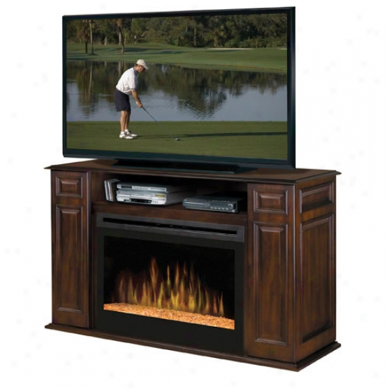 Dimplex Atwood Electric Fireplace Media Consol e- Walnut