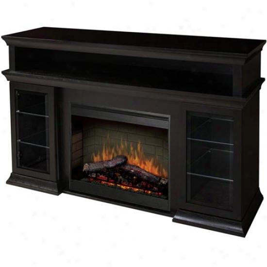 Dimplex Bennett Media Stand Witj Electric Fireplace - Espresso