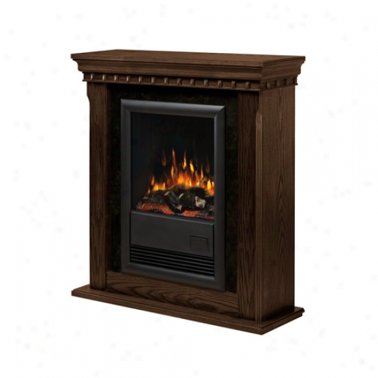Dimplex Braado Ii Nutmeg Electric Fireplace