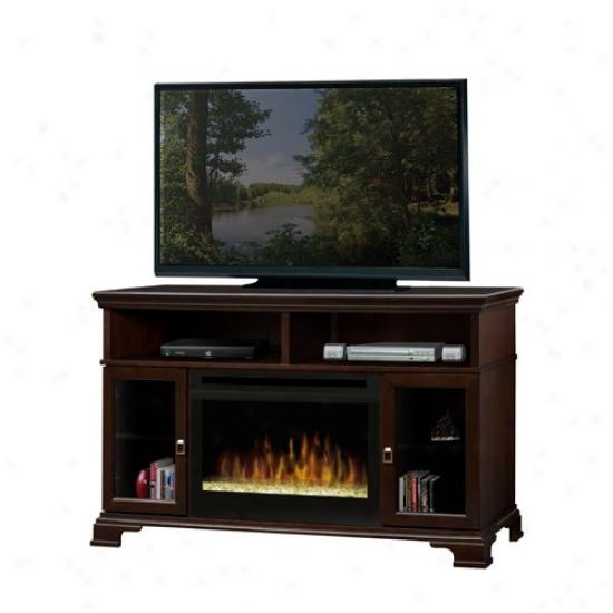 Dimplex Brookings Electric Fireplace Media Console - Espresso