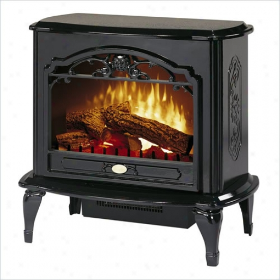 Dimplex Celeste Compacct Electric Fireplace/stove - Black