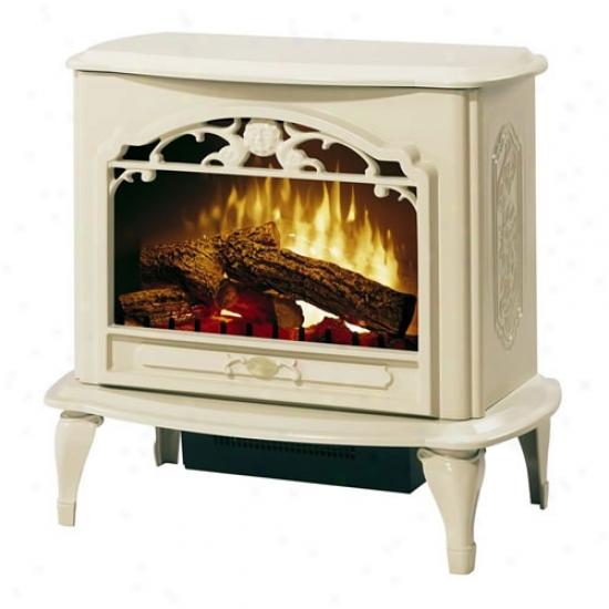 Dimplex Celeste Compact Electric Fireplace/stove - Creme