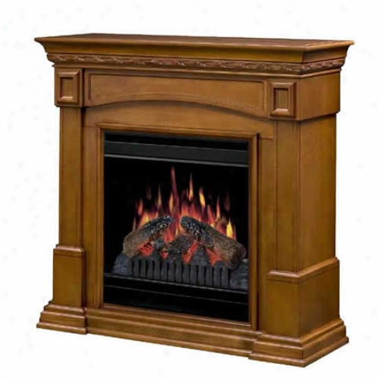 Dimplex Colonial Electric Fireplace Mantel - Amaretto