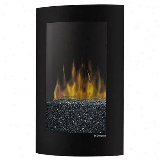 Dimplex Curved Recessed Wall Mount Electric Fireplace
