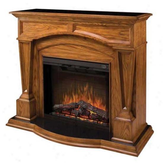 Dimplex Again Bridgewood Electric Fireplace - Dark Oak