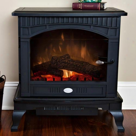 Dimplex Lincoln Deluxe Compact Stove - Black