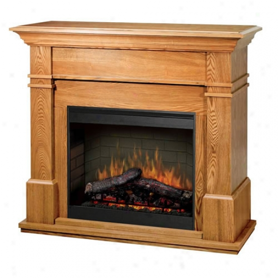 Dimplex Maestro Kenton Electric Fireplace - Oak