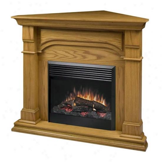 Dimplex Maestro Oxford Cofner Electric Fireplace - Medium Oak