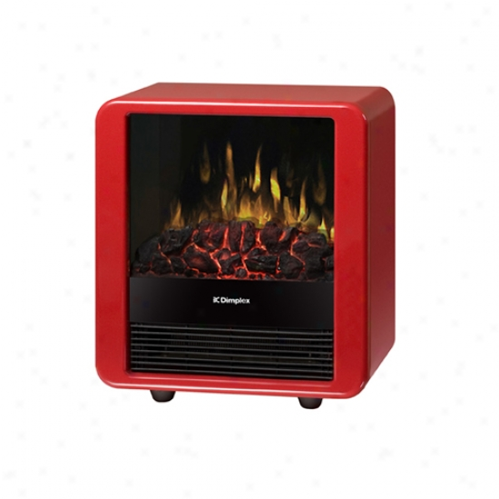 Dimplex Mini Cube Electric Stove - Red