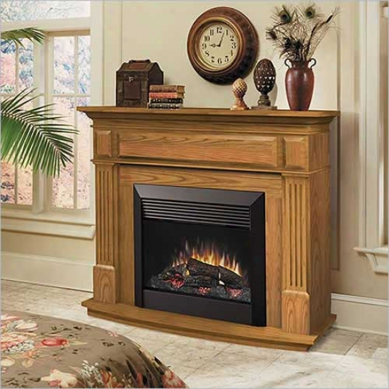 Dimplex Preston Electric Fireplace - Oak