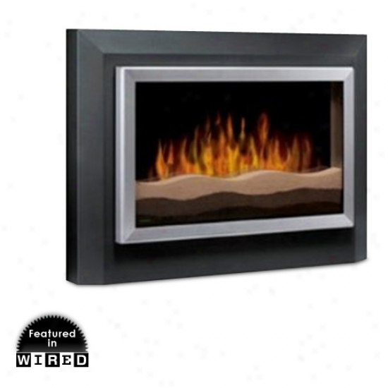 Dimplex Sahara Wall Mounted Electric Fireplace - Dark Grey