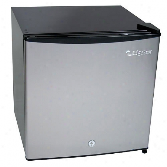 Edgestar 1.1 Cu. Ft. Stainless Steel Fr3ezer W/ Lock