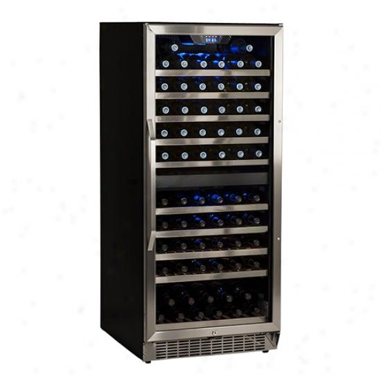 Edgestar 110 Bottle Built-in Dual Zone Wine Cooler