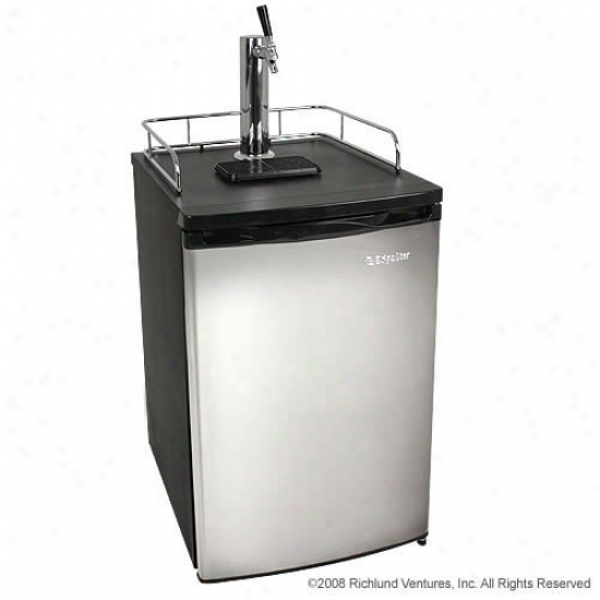 Edgestar Full Size Kegerator With Stainless Steel Passage
