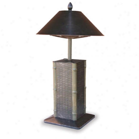 Endless Summer Sumatra Throw Aluminum Electric Table Heater