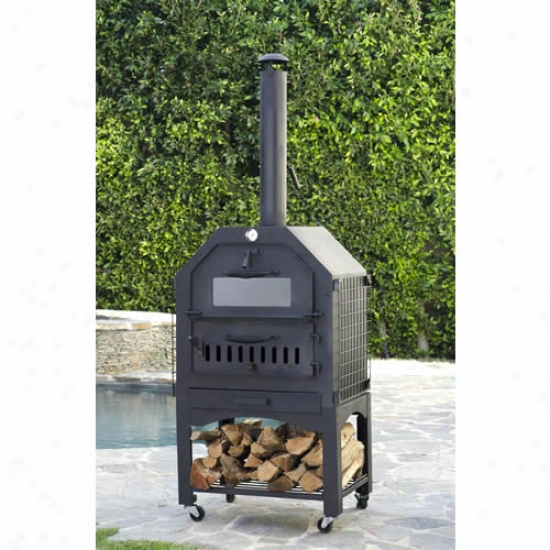 Enforno Wood-fired Pizza Oven And Smoker