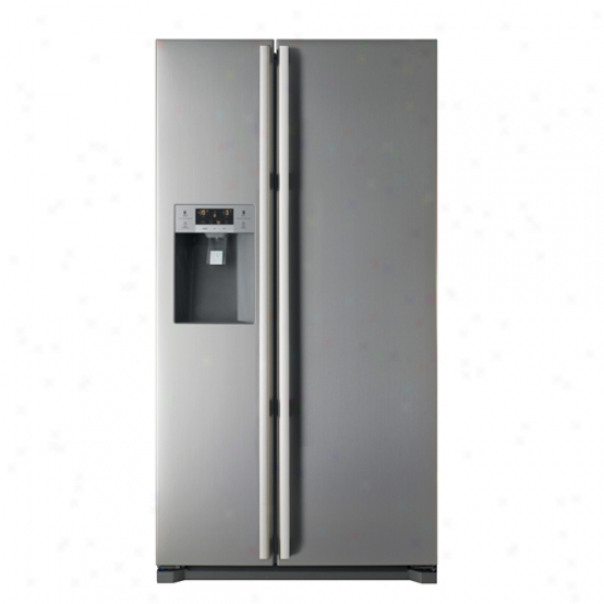Fagor Energy Star Side-by-side Refrigerator Freezer With Ice And Water Dispenser