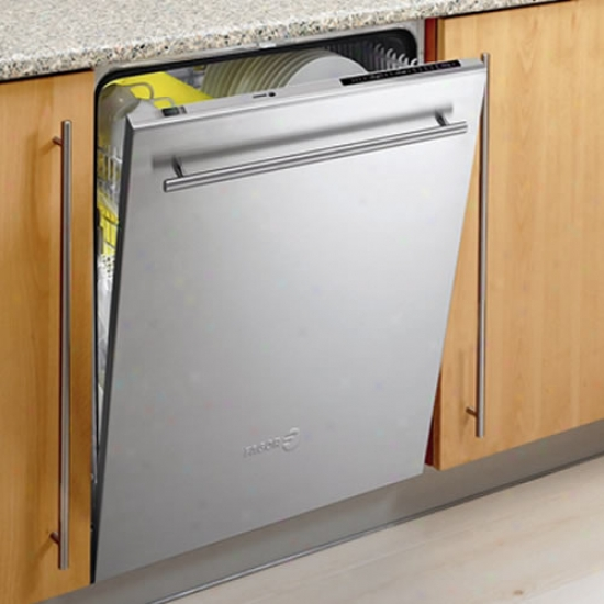 Fagor Stainless Steel Built-in Dishwasher - 6 Wash Cycles