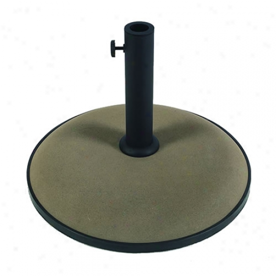 Fiberbuilt 19  Concrete Umbrella Base - Bronze