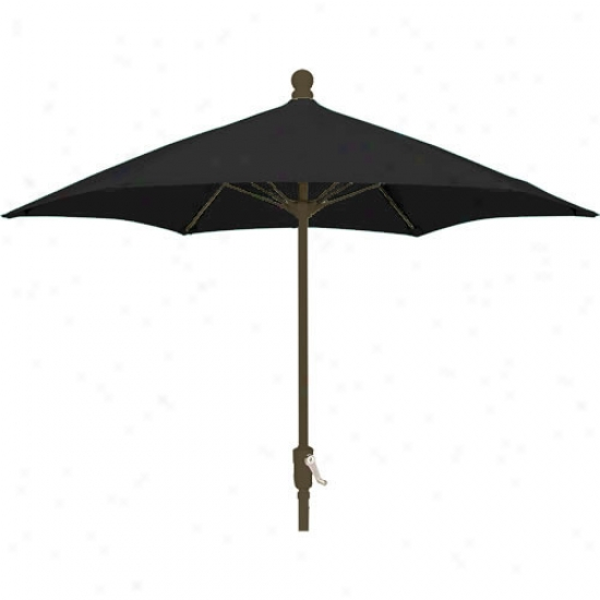 Fiberbuilt Patio Collection 7.5' Umbrella With Crank - Bronze Skeleton