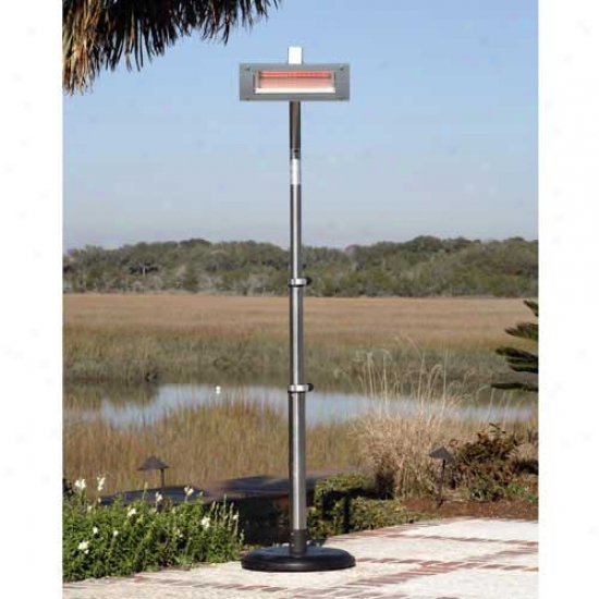 Fire Sejse Stainless Steel Infeared Patio Heater (glass Front)